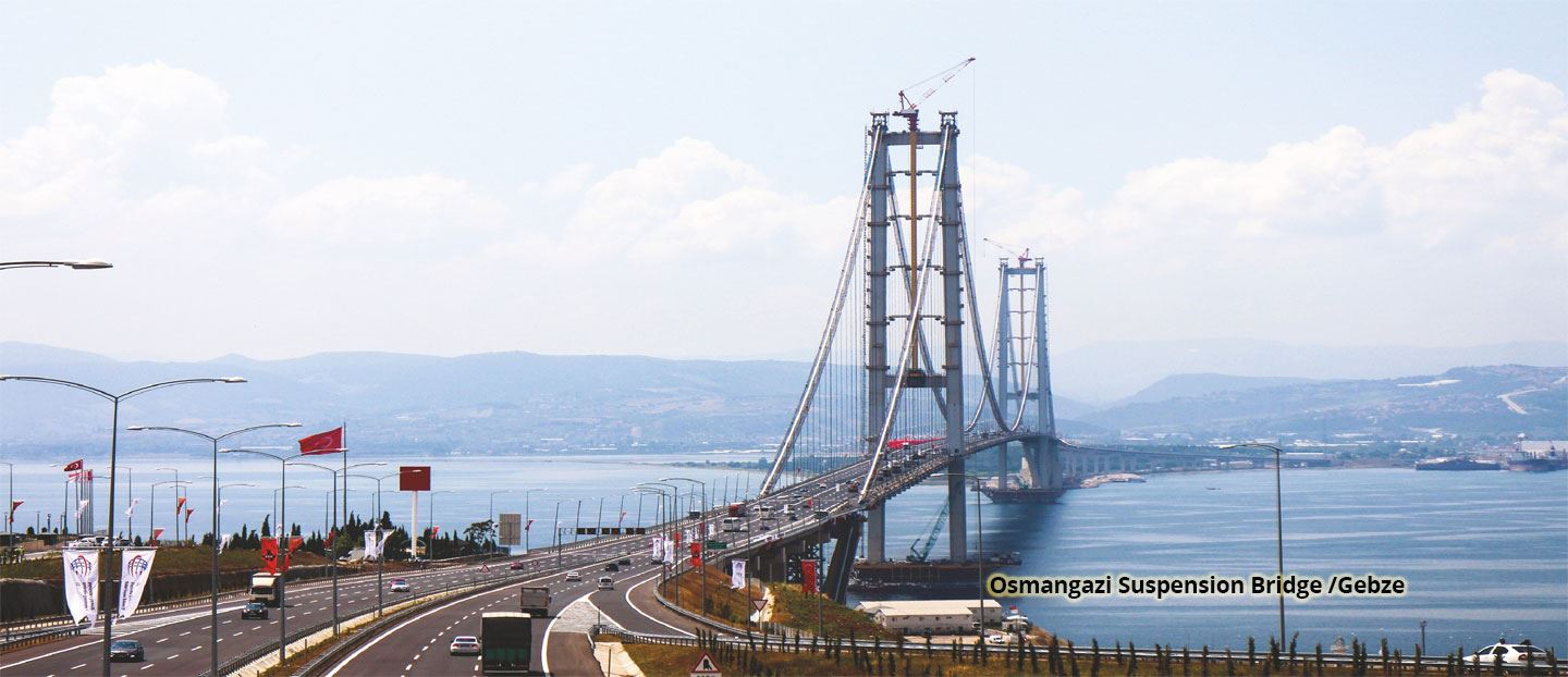 Osmangazi Suspension Bridge / Gebze